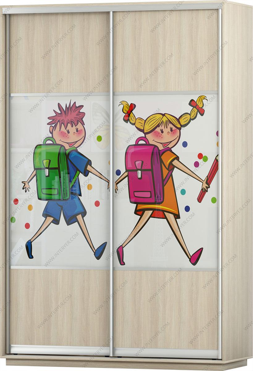Картинка на шкаф купе для детской